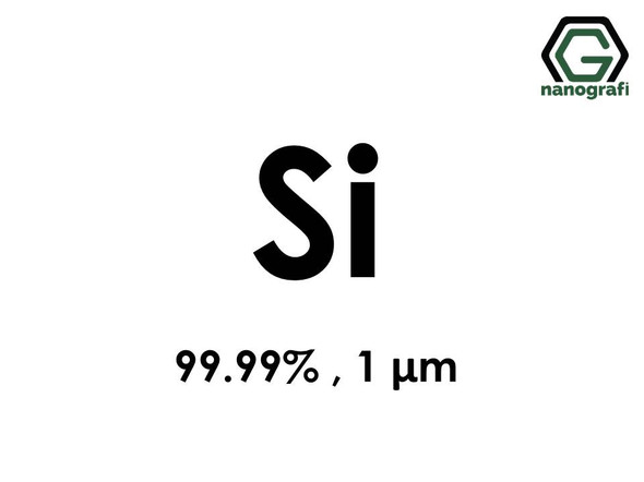 Si(Silicon) Micron Powder,1 micron, 99.99 %