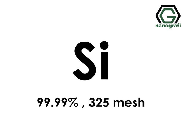 Si(Silicon) Micron Powder, 325 mesh, 99.99 %