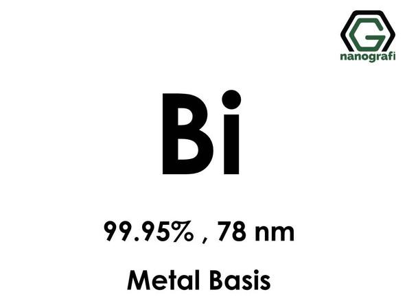 Bismuth (Bi) Nanopowder/Nanoparticles, Purity: 99.95%, Size: 78 nm, Metal Basis- NG04EO0601