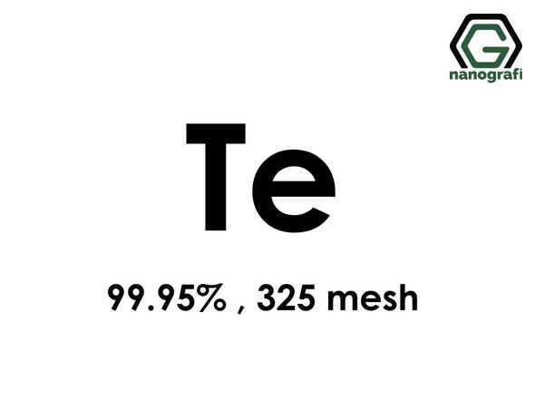 Tellurium (Te) Micron Powder, 325 Mesh, 99.95 %