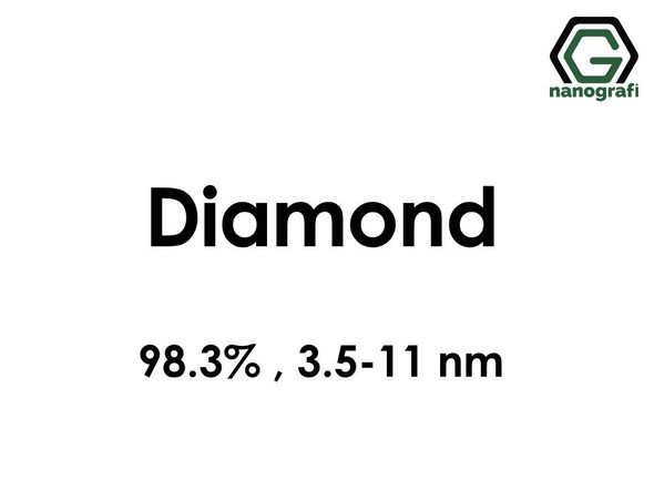 Diamond (C) Nanopowder/Nanoparticles, Purity: >98.3%, Size: 3.5-11 nm- NG04EO0702