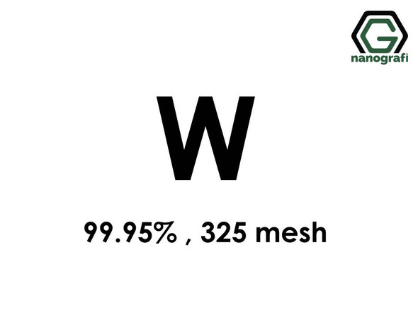 W(Tungsten) Micron Powder, 325 Mesh, 99.95 %