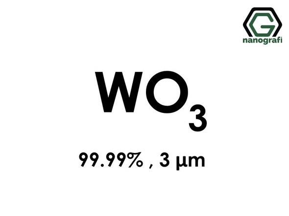 WO3(Tungsten Trioxide) Powder, 3 Micron, 99.99 %