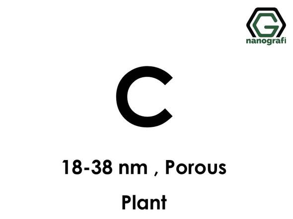 Porous Carbon (C) Nanopowder/Nanoparticles, Size: 18-38 nm, (Plant)- NG04EO0706
