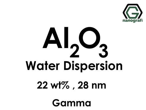 Al2O3 in Water, gamma, 22 wt%, 28nm