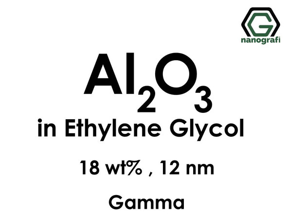 Al2O3 in Ethylene Glycol, gamma, 18wt%, 12nm