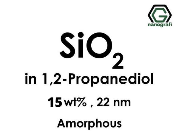 SiO2 in 1, 2-Propanediol, Amorphous, 15wt%, 22nm