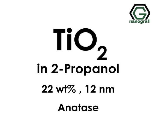 TiO2 in 2-Propanol, Anatase, 22wt%, 12nm