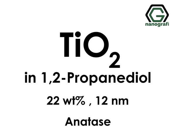 TiO2 in 1, 2-Propanediol, Anatase, 22wt%, 12nm