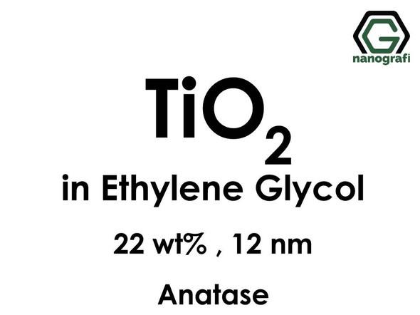 TiO2 in Ethylene Glycol, Anatase, 22wt%, 12nm