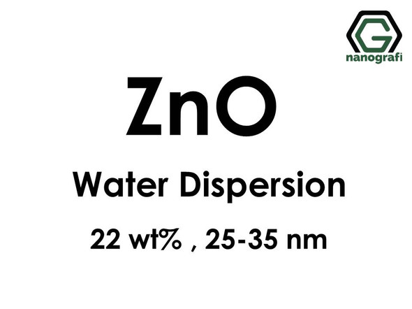 ZnO in Water, 22 wt%, 25-35nm