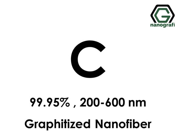 Graphitized Carbon Nanofiber, Purity: 99.95%, Size: 200-600 nm- NG04EO0713