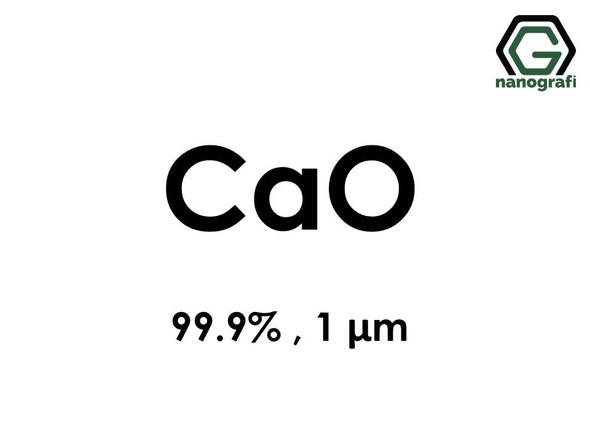 Calcium oxide Micron Powder, 1 Micron, 99.9 %
