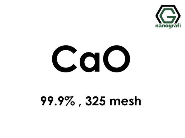 Calcium oxide Micron Powder, 325 mesh, 99.9 %