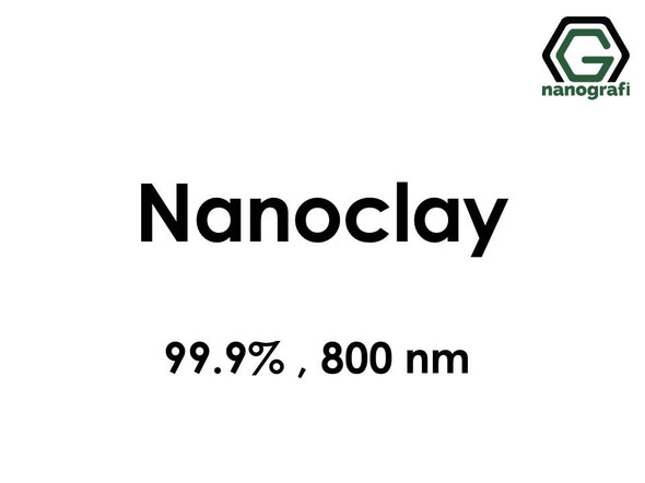Nanoclay,  Purity: 99.9%, Size: 800 nm