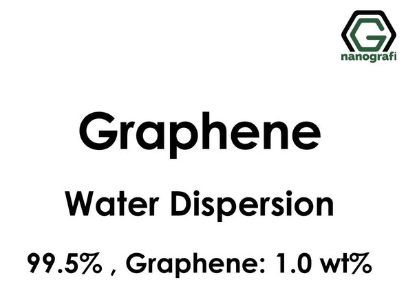 Graphene Water Dispersion, Purity: 99.5%, Black Liquid, Graphene: 1,0 wt% - NG04EO0716