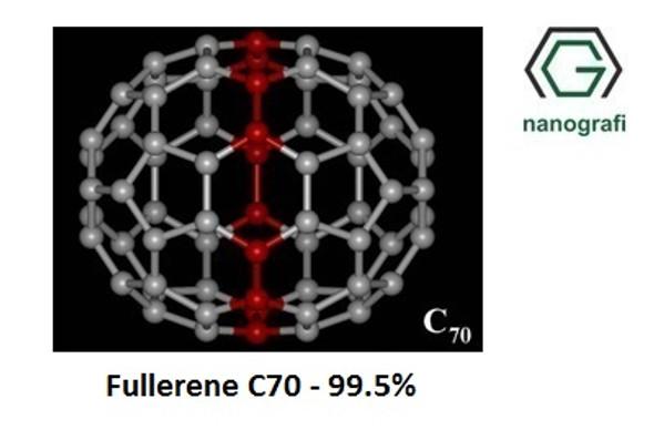 Fullerene-C70 Purity: 99.5%