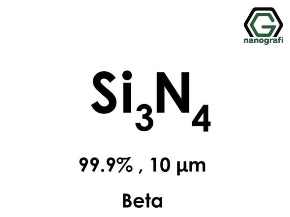 Silicon Nitride Micron Powder, Si3N4, Beta, 10 Micron, 99.9%