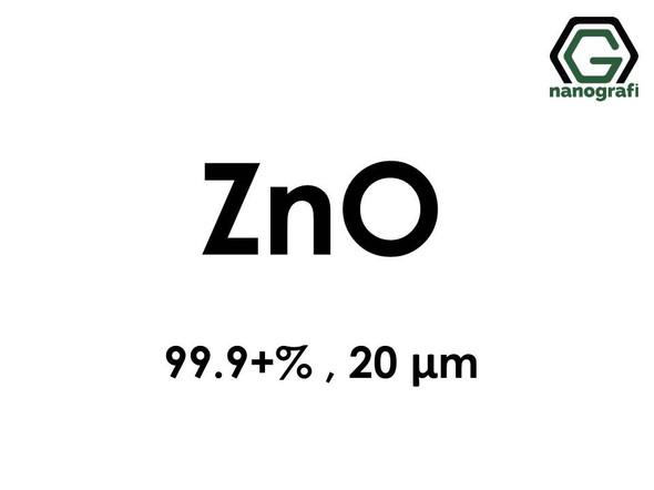 Zinc Oxide Micron Powder, ZnO, 99.9+%, 20 Micron