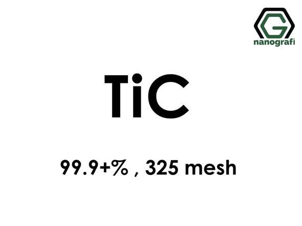 Titanium Carbide (TiC) Micron Powder, Purity: 99,9+%, Size: 325 mesh