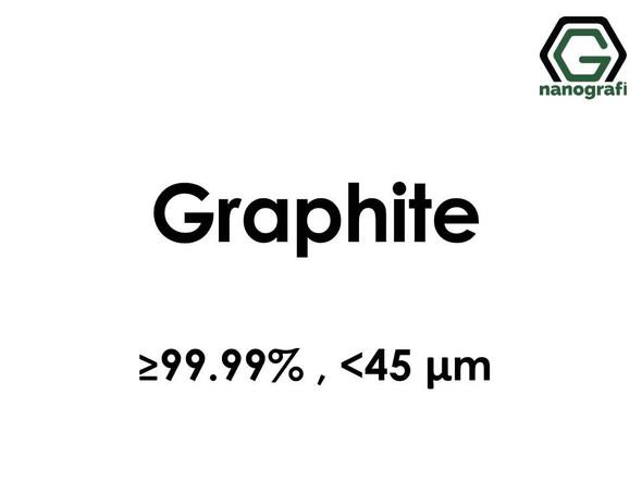 Graphite micron powder, <45 μm, ≥99.99%
