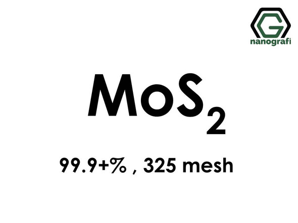Molybdenum Disulfide Micron Powder, 325 mesh, 99.9+% MoS2
