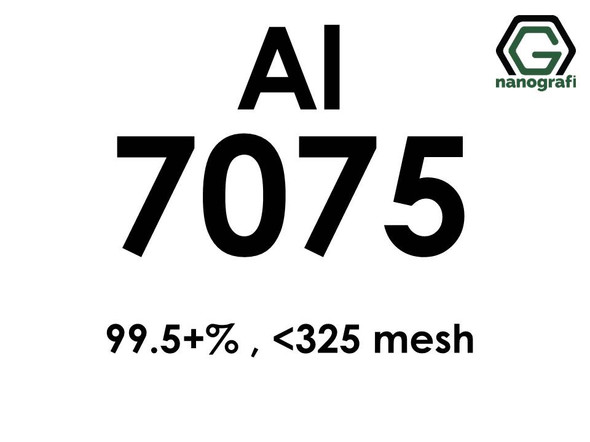 Aluminium 7075 alloy powder, 99.5+% , < 325 mesh
