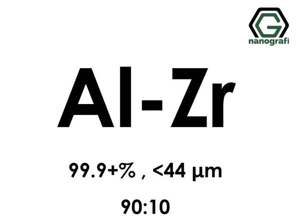 Aluminium Zirconium alloy ( Al-90% Zr-10%) , 99.9+% , < 44 micron