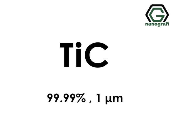 TiC(Titanium Carbide) Micron particles, 99.99%, 1 um,