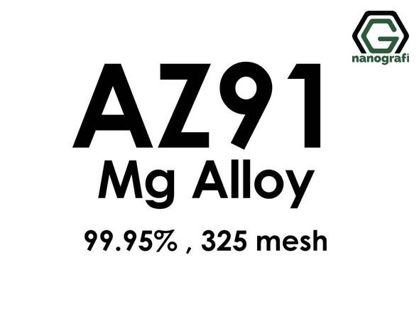 AZ91 Magnesium Alloy Powder, 325 mesh, 99.95%