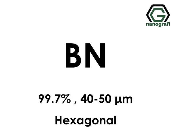 Boron Nitride Micron Powder 99.7%, 40-50 um, Hexagonal