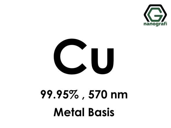 Copper (Cu) Nanopowder/Nanoparticles, Purity: 99.95%, Size: 570 nm, Metal Basis- NG04EO1003