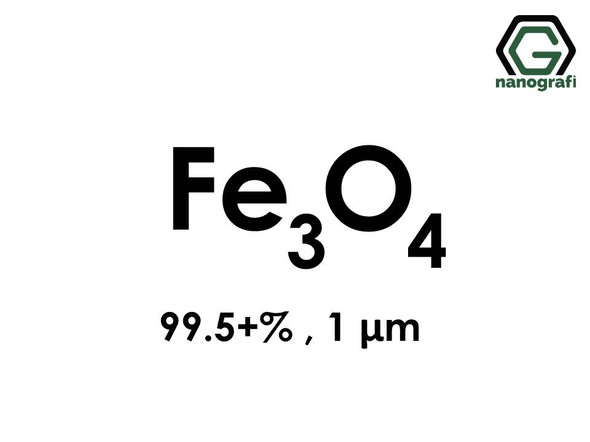 Fe3O4(Iron Oxide) Micron Powder , 1 um, Purity 99.5+%