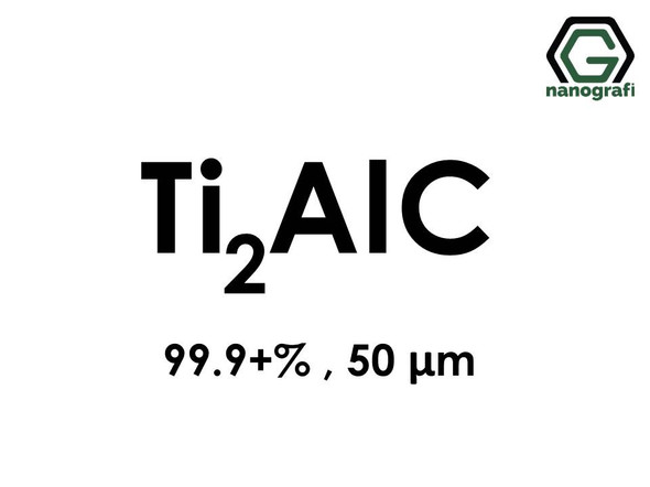 Titanium Aluminum Carbide (Ti2AlC) Micron Powder, Purity: 99.9+%, Size: 50 µm