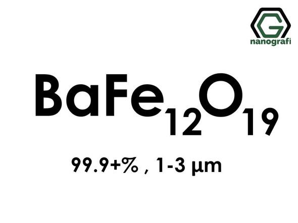 Barium Iron Oxide (BaFe12O19) Micron Powder, 99.9+%, 1-3 micron