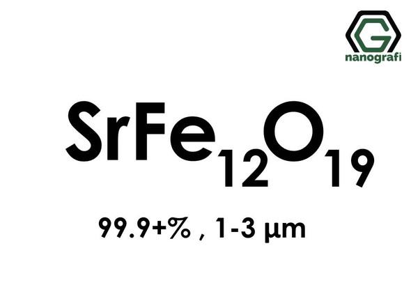 Strontium Iron Oxide (SrFe12O19) Micron Powder, 99.9+%, 1-3 micron