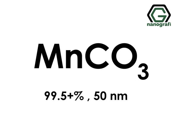 Manganese(II) carbonate Nanopowder, MnCO3 , 99.5+ , 50 nm