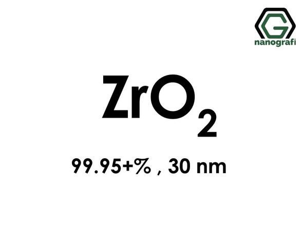 Zirconium Oxide (ZrO2) Nanopowder/Nanoparticles, Purity: 99.95+ %, Size: 30 nm