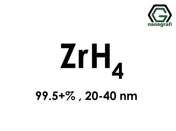 Zirconium Hydride Nanopowder, ZrH4 , 20-40 nm, %99.5+
