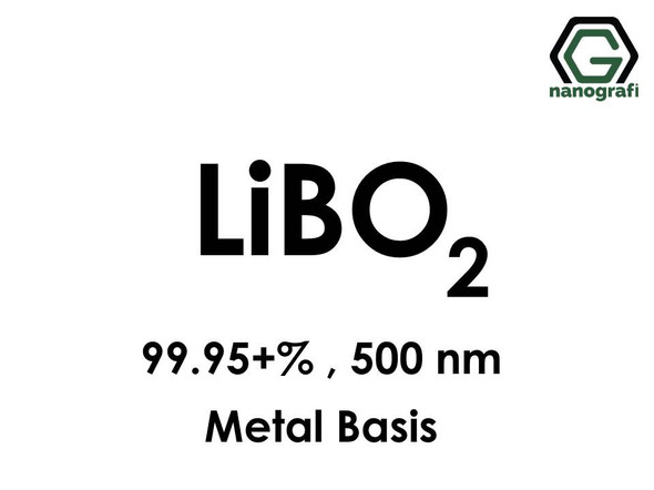 Lithium metaborate Nanopowder, LiBO2, 500nm, 99.95+% metals basis