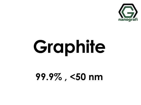 Graphite Nanopowder, <50 nm, Purity: %99.9