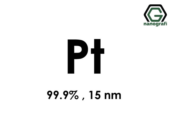 Platinum Nanopowder, Pt, 99.9%, 15 nm