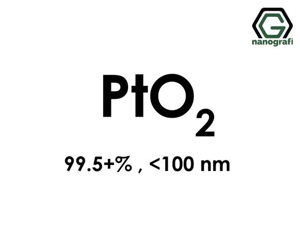 Platinum Oxide (PtO2) Nanopowder/Nanoparticles, Purity: 99.5+%, Size: <100 nm