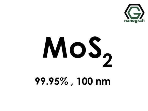 Molybdenum Disulfide Nanopowder, 100nm, 99.95% MoS2