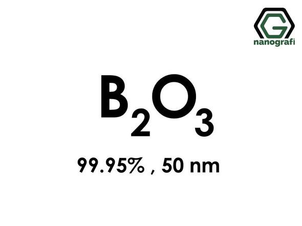 Boron oxide (B2O3) Nanopowder , 99.95% , 50 nm