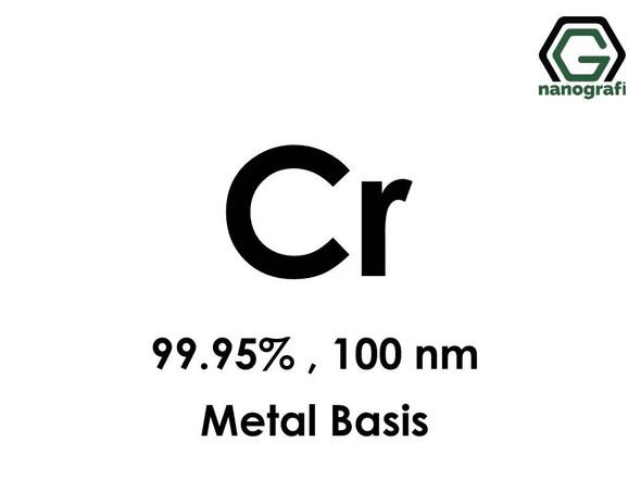 Cr(Chromium) Nanoparticles 99.95%, 100 nm, metal basis