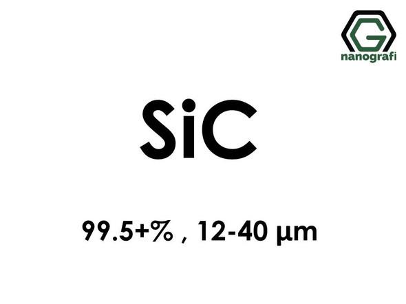 Silicon Carbide (SiC) Micron Powder, Purity: 99.5+%, Size: 12-40 μm