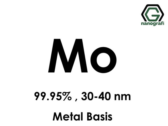 Molybdenum (Mo) Nanopowder/Nanoparticles, Purity: 99.95%, Size: 30-40 nm, Metal Basis- NG04EO1301