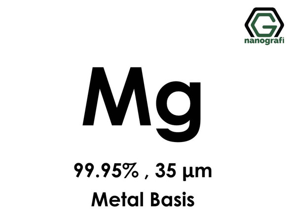 Magnesium (Mg) Micron Powder, Purity: 99.95%, Size: 35 µm, Metal Basis- NG04EO1401