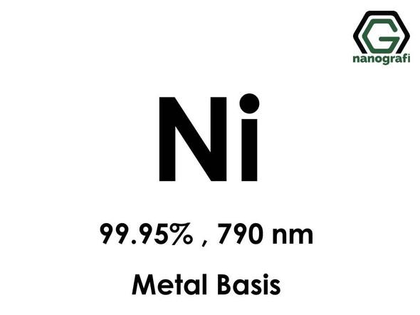 Nickel (Ni) Nanopowder/Nanoparticles, Purity: 99.95%, Size: 790 nm, Metal Basis- NG04EO1701